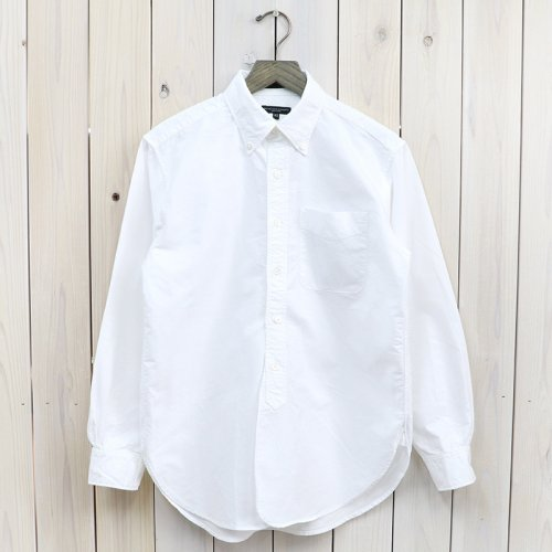 ENGINEERED GARMENTS『19th BD Shirt-Cotton Oxford』(White)