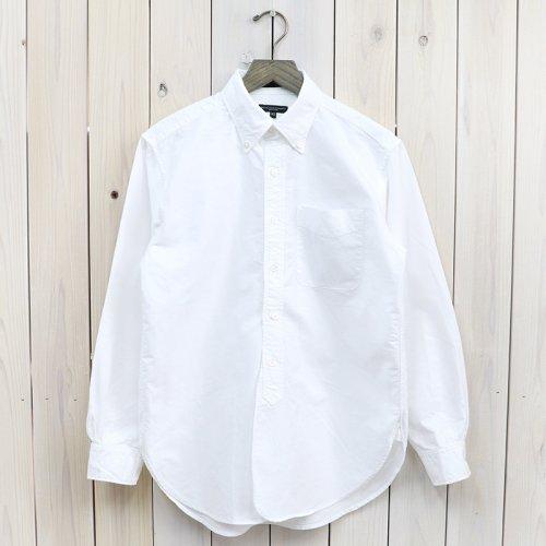 ENGINEERED GARMENTS『19th BD Shirt-Cotton Oxford』(White)