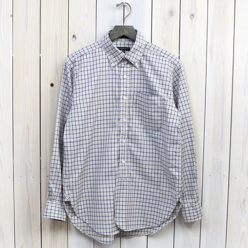 『19th BD Shirt-Cotton Tattersall』(Blue)