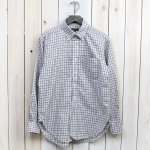 ENGINEERED GARMENTS『19th BD Shirt-Cotton Tattersall』(Blue)