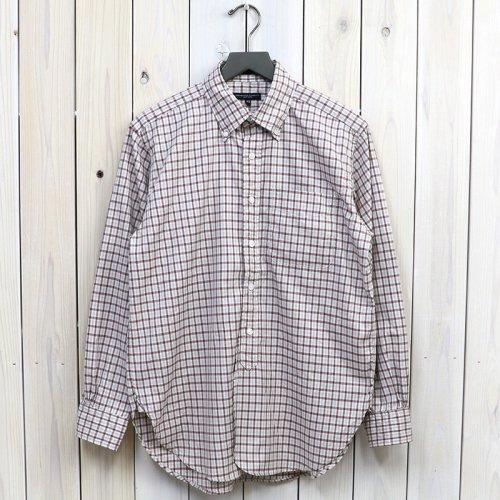 ENGINEERED GARMENTS『19th BD Shirt-Cotton Tattersall』(Burgundy)