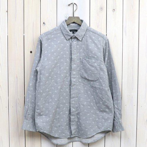 『Short Collar Shirt-H.Grey Double Gauze』(Paisley)