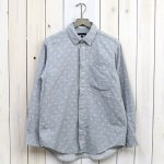 ENGINEERED GARMENTS『Short Collar Shirt-H.Grey Double Gauze』(Paisley)