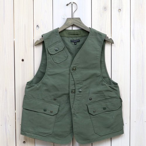 『Upland Vest-Cotton Double Cloth』(Olive)
