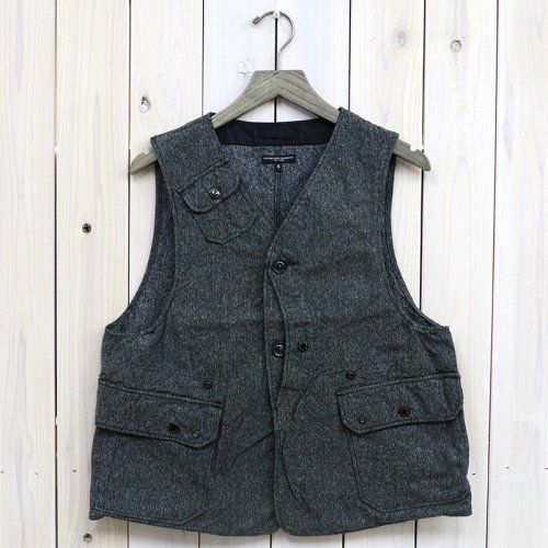 『Upland Vest-Salt and Pepper Twill』