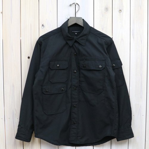 ENGINEERED GARMENTS『CPO Shirt-Nyco Ripstop』(Black)