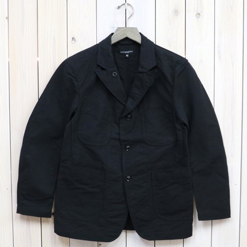 『Bedford Jacket-Cotton Double Cloth』(Black)