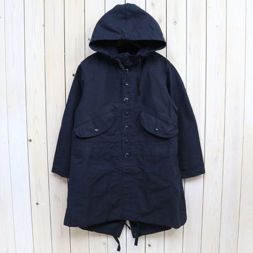 『Highland Parka-Cotton Double Cloth』(Dk.Navy)