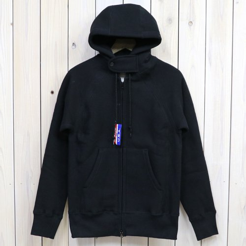 『Raglan Zip Hoody』(Black)