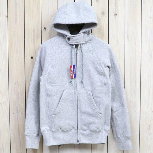 『Raglan Zip Hoody』(Grey)