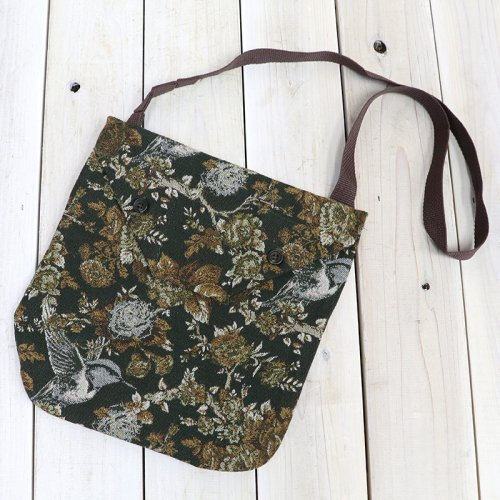 『Shoulder Pouch-Hummingbird Jacquard』