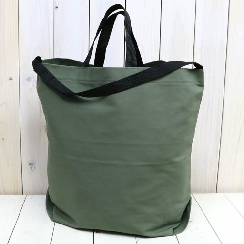 『Carry-All Tote w/Strap-Cotton Double Cloth』(Olive)