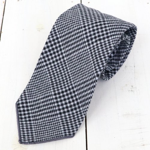 『Neck Tie-Brushed』(Dk.Grey Glen Plaid)