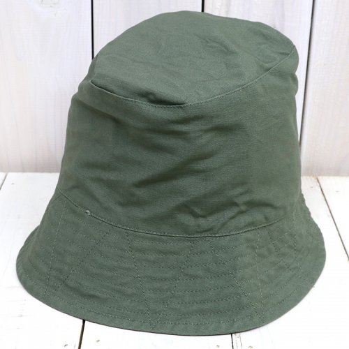 『Bucket Hat-Cotton Double Cloth』(Olive)