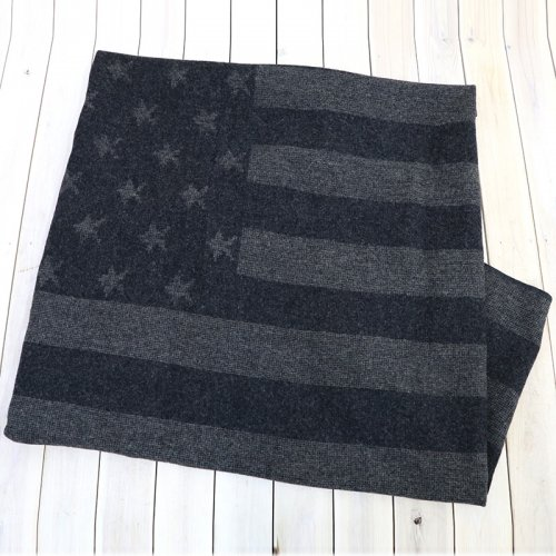『Wool Blanket-Stars and Stripes Dobby』