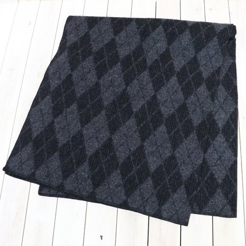 『Wool Blanket-Argyle Wool Dobby』