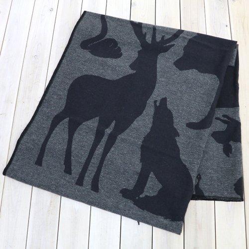『Wool Blanket-Animal Wool Jacquard』