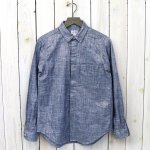 【会員様限定SALE】FWK by ENGINEERED GARMENTS『Short Collar Shirt-Lurex Chambray』