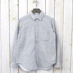 FWK by ENGINEERED GARMENTS『Short Collar Shirt-H.Grey Double Gauze』(Polka Dot)