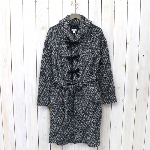 『Shawl Collar Knit Jacket-Zigzag Cable Knit』