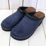 Troentorp『Swedish Clog-Plain Toe/Suede』(Navy)