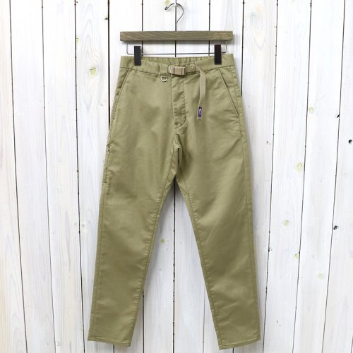 『Stretch Twill Tapered Pants』(Beige)