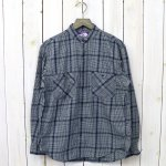 THE NORTH FACE PURPLE LABEL『Band Collar Twill Shirt』(Navy)
