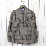 THE NORTH FACE PURPLE LABEL『Band Collar Twill Shirt』(Brown)