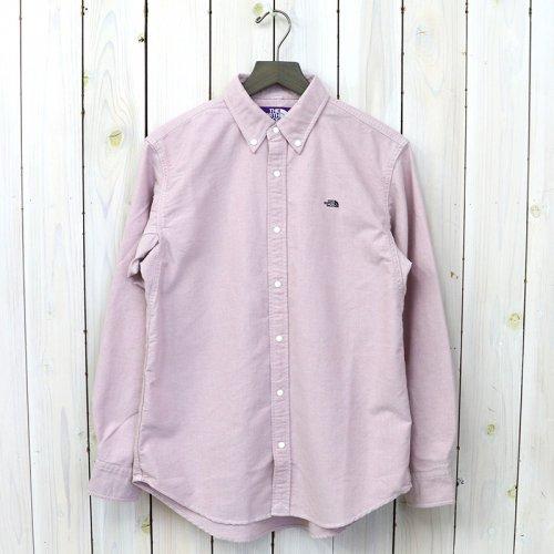 『Cotton Polyester OX B.D Shirt』(Pink)