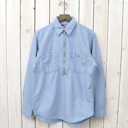 『Zip Up Pullover Shirt』(Sax)