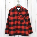 nanamica『Shirt Jacket』(Red/Black)