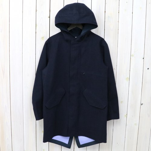 『GORE-TEX® Shell Coat-Wool GORE-TEX』(Navy)