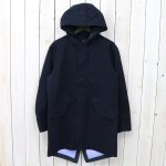 nanamica『GORE-TEX® Shell Coat-Wool GORE-TEX』(Navy)