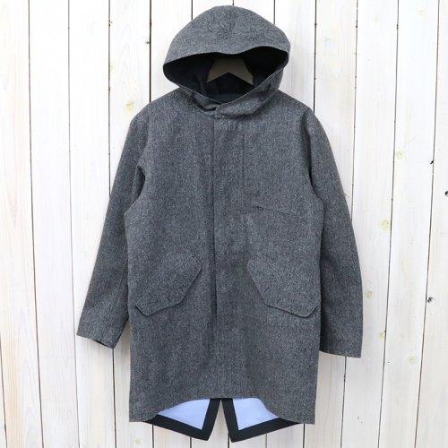 nanamica『GORE-TEX® Shell Coat-Wool GORE-TEX』(Mix Gray)