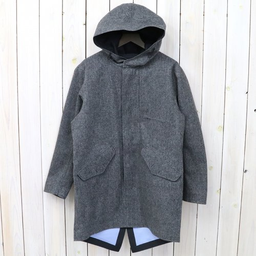 『GORE-TEX® Shell Coat-Wool GORE-TEX』(Mix Gray)