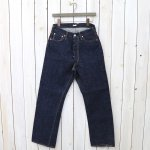 Kaptain Sunshine『Baggy Cut Straight Denim Pants』(Indigo One wash)