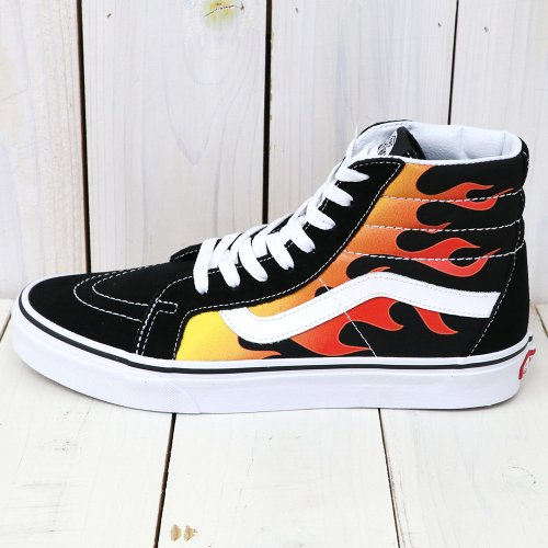 VANS『SK8-HI REISSUE』((FLAME)BLACK/BLACK/TRUE WHITE)