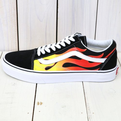 VANS『OLD SKOOL』((FLAME)BLACK/BLACK/TRUE WHITE)