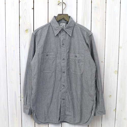 【SALE特価30%off】orSlow『VINTAGE FIT WORK SHIRTS』(GRAY)