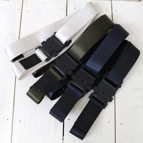 hobo『Nylon Tape Belt with Iron Buckle』