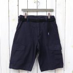 THE NORTH FACE PURPLE LABEL『Cotton Ripstop Cargo Shorts』(Navy)