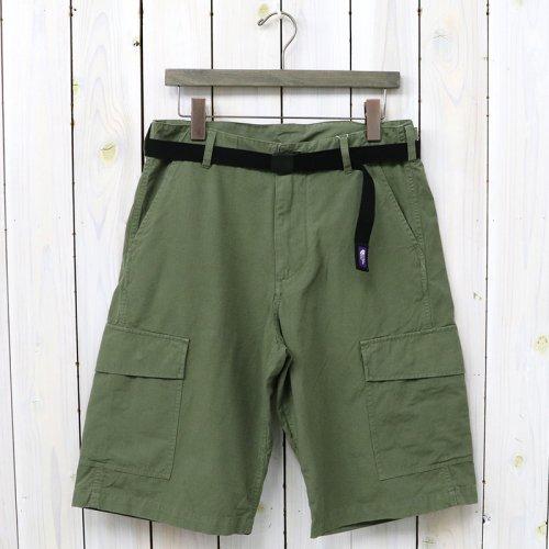 『Cotton Ripstop Cargo Shorts』(Khaki)