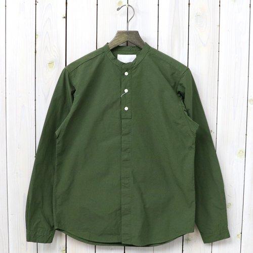 『Band Collar Wind Shirt』(Khaki)