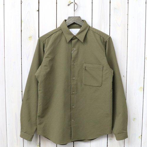 【SALE特価45%off】nanamica『ALPHADRY Shirt』(Khaki Beige)