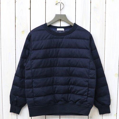 『DownCrew Neck Sweater』(Navy)