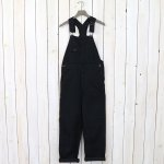 orSlow『OVER ALL』(BLACK DENIM)