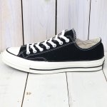 CONVERSE『Chuck Taylor All Star '70』(BLACK)