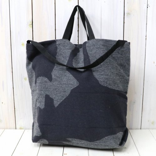 『Carry-All Tote w/Strap-Animal Wool Jacquard』