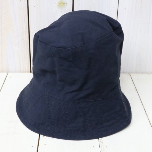 ENGINEERED GARMENTS『Bucket Hat-Cotton Double Cloth』(Dk.Navy)