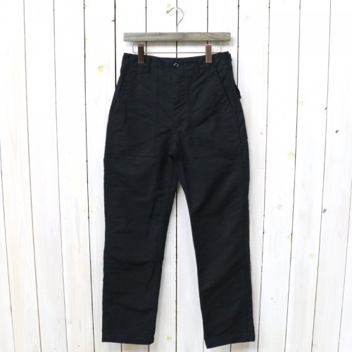 『Fatigue Pant-Cotton Double Cloth』(Black)